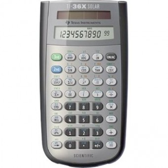 TI 36X Solar Scientific Calculator Promo