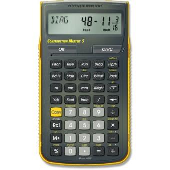 Calculadoras Construction Master 5