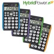 Paquete de 5 calculadoras  Datexx para escritorio, 8 dígitos, híbrida
