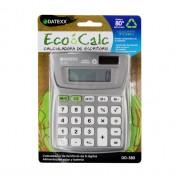Paquete de 5 calculadoras  Eco-calc escritorio dual power 8 dígitos, memoria