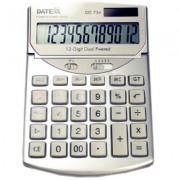 Paquete de 5 calculadoras  12 dígitos, metálica, impuesto, margen, disp ajust