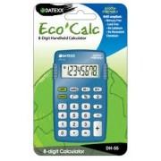Paquete de 10 calculadoras  Eco-calc básica 8 dígitos memoria