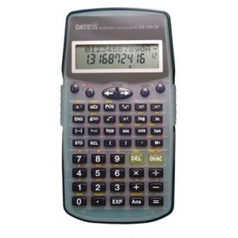 Paquete de 5 calculadoras cientifica 10 dígitos, fracciones, 224 funciones, 10+2 dígitos estadística
