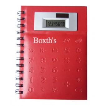 Libreta con Calculadora