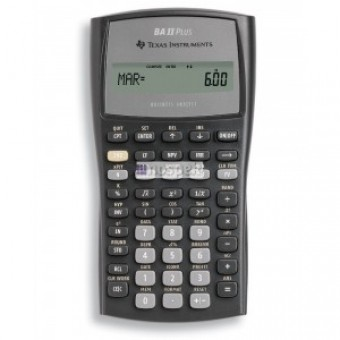 BA II Plus - Calculadora Financieras BA II Plus Texas Instruments