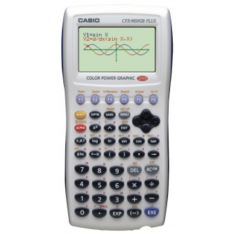 Graphin Calculator Casio FX 9850GC Plus