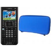 TI NSPIRE CX CAS - Calculadora Graficadora TI Nspire CX CAS con Funda Azul