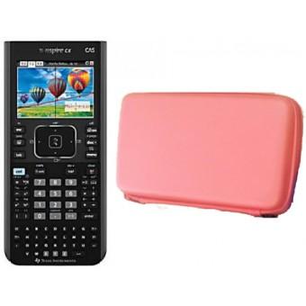TI NSPIRE CX CAS - Calculadora Graficadora TI Nspire CX CAS con Funda Roja