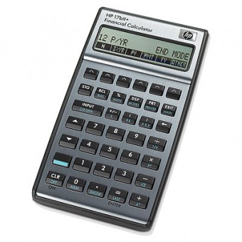 Financial Calculator HP 17BII Plus