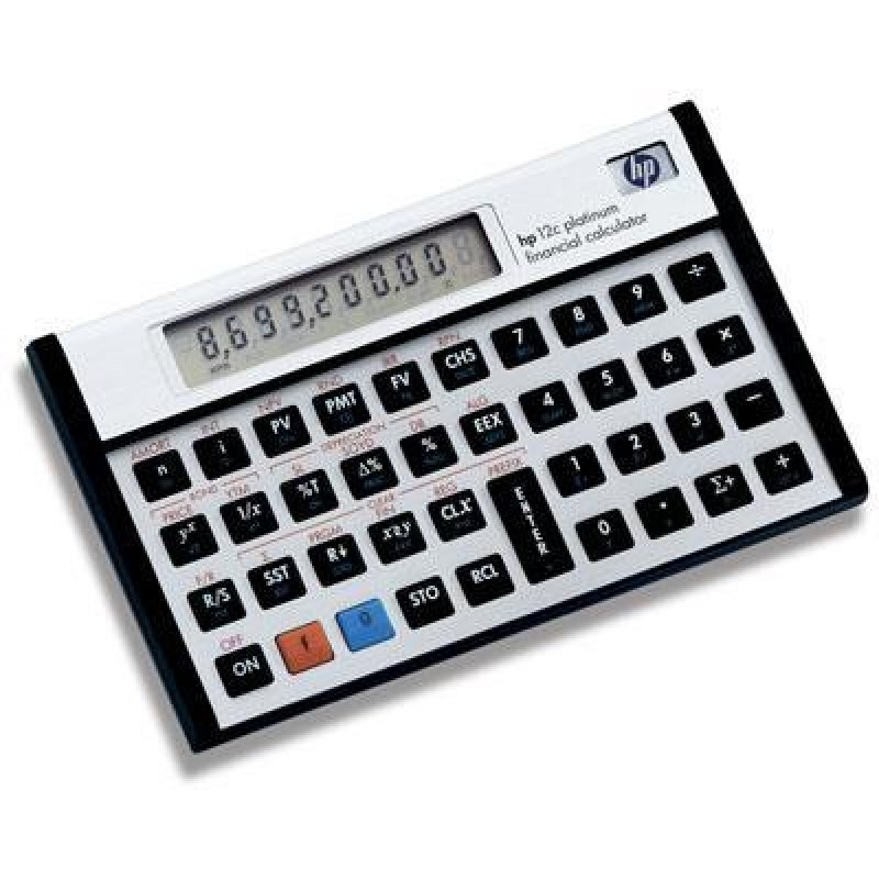 how to use hp 12c calculator