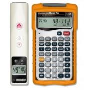 Medidor Laser de Distancia 15 Metros y Calculadora Construction Master Pro (Paquete Constructor II)