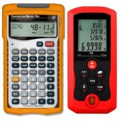 Calculadora Construction Master Pro y Medidor de Distancia Laser 70 Metros (Paquete Constructor Pro II)