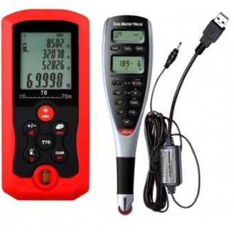Digitalizador de Planos y Medidor de Distancia Laser 70 Metros (Paquete Ingeniero I)
