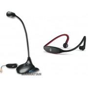 Microfono Metalico y Audifonos Bluetooth (Paquete Musical I)