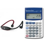 Paquete Chef - Audifonos Bluetooth y Calculadora Kitchen Calc