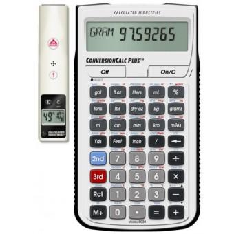 Medidor de Distancia Laser Dimension Master II y Calculadora ConversionCalc Plus