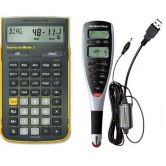 Calculadora Construction Master 5 y Digitalizador de Planos Scale Master 5 (Paquete Estructural II)