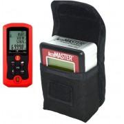 Paquete Accumaster 2 en 1 Medidor de Angulo y Nivelador con Medidor de Distancia Laser 70 Metros (Paquete Medicion Nivel II)