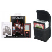 Paquete Accumaster 2 en 1 Medidor de Angulo y Nivelador y Medidor de Distancia Laser de 70 Metros (Paquete Medicion Nivel IV)