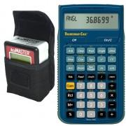 Paquete Accumaster 2 en 1 Medidor de Angulo y Nivelador y Calculadora Tradesman Calc (Paquete Medicion Nivel VI)