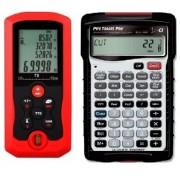 Calculadora Pipe Trades Pro y Medidor Laser de Distancia 70 Metros (Paquete Planificador I)