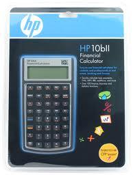 Calculadoras HP 10 BII