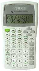 Calculadoras Cientificas Texas Instruments 30 XII